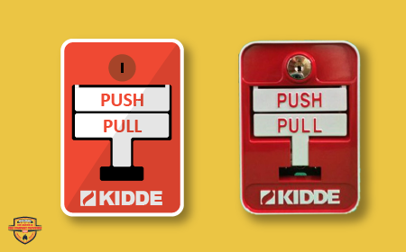 manual release push button kidde fenwal fm-200